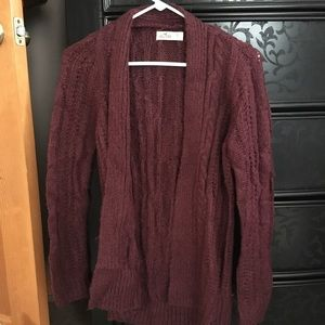 NWT Hollister Cable Knit Cardigan